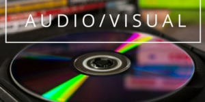 Compact Disc with Audio Visual Text