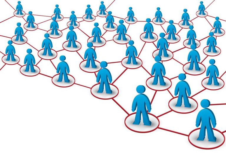 LinkedIn illustration of connections